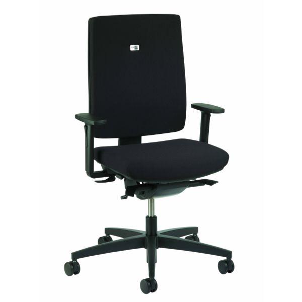 Linea bureaustoel zwart